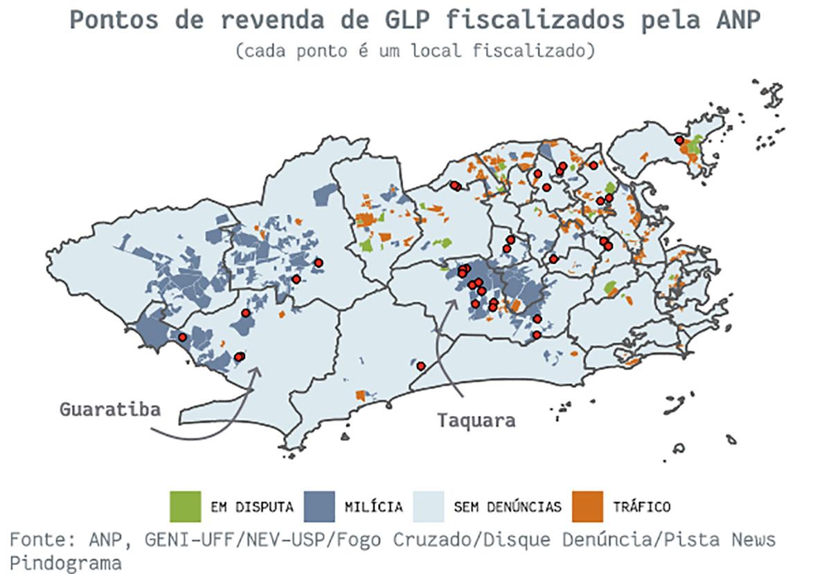 mapa4 pindograma Segurança pública no Rio de Janeiro: cada crime no seu quadrado