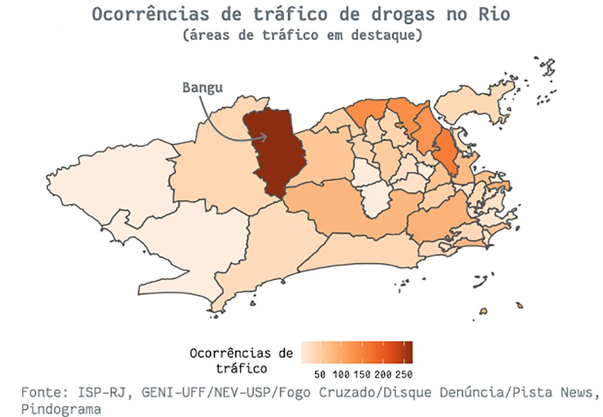 mapa8 pindograma Segurança pública no Rio de Janeiro: cada crime no seu quadrado