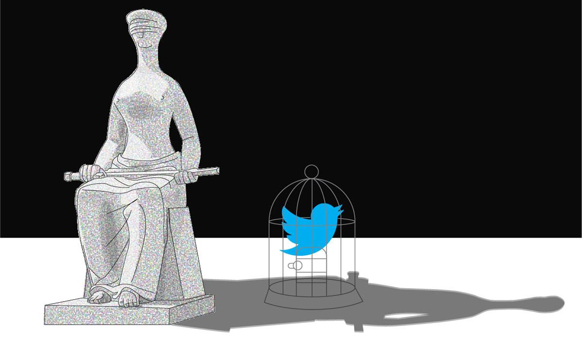 Agora, quem tem Twitter tem medo