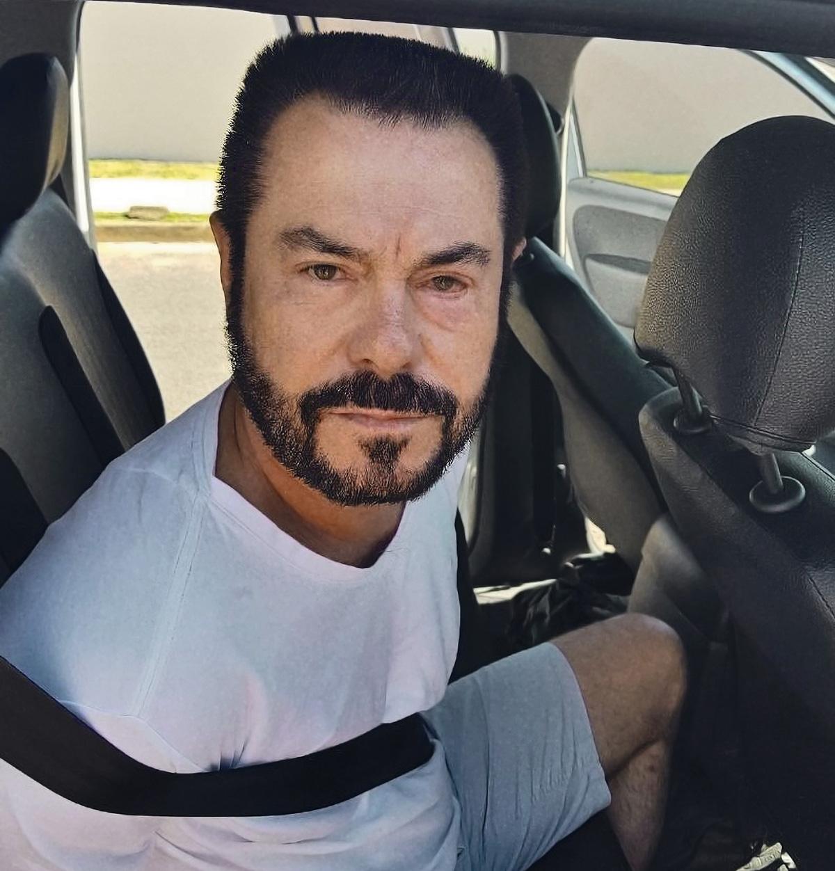 Cabeça Branca, em 2017: a PF suspeitava que ele alterara as feições do rosto em cirurgias e tingira os cabelos grisalhos, razão do seu apelido