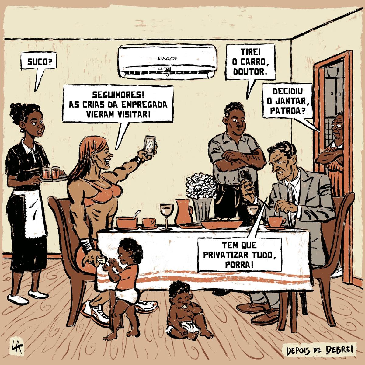 Cartuns de Leandro Assis
