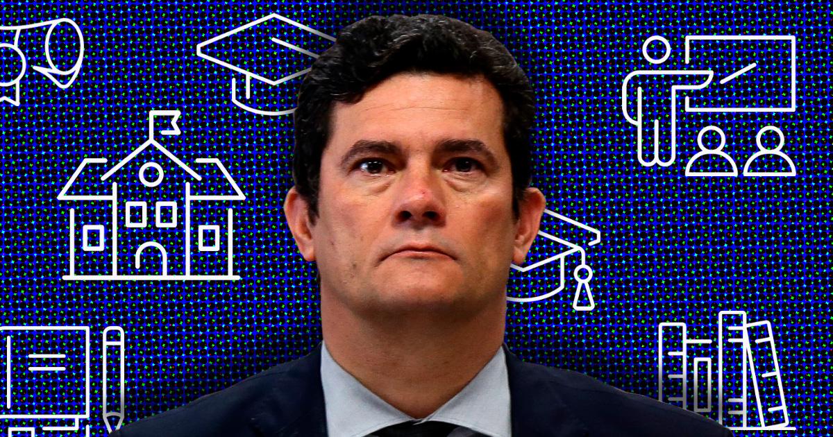 """A """"Escola Sergio Moro"""" não sai do papel"""