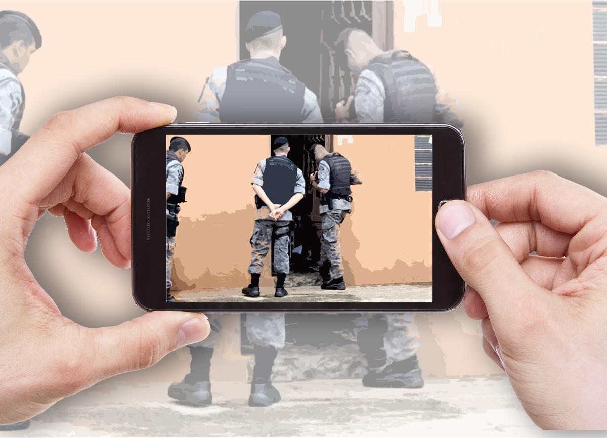 Ilustração de Paula Cardoso sobre fotos/reprodução de internet