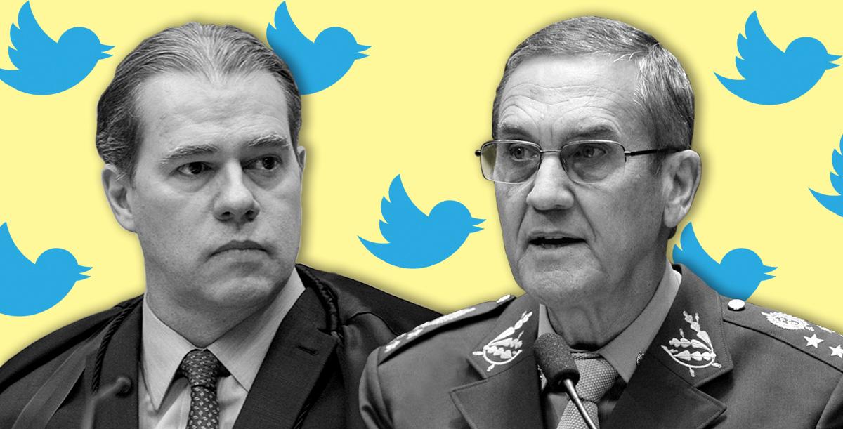 O general, o tuíte e a promessa