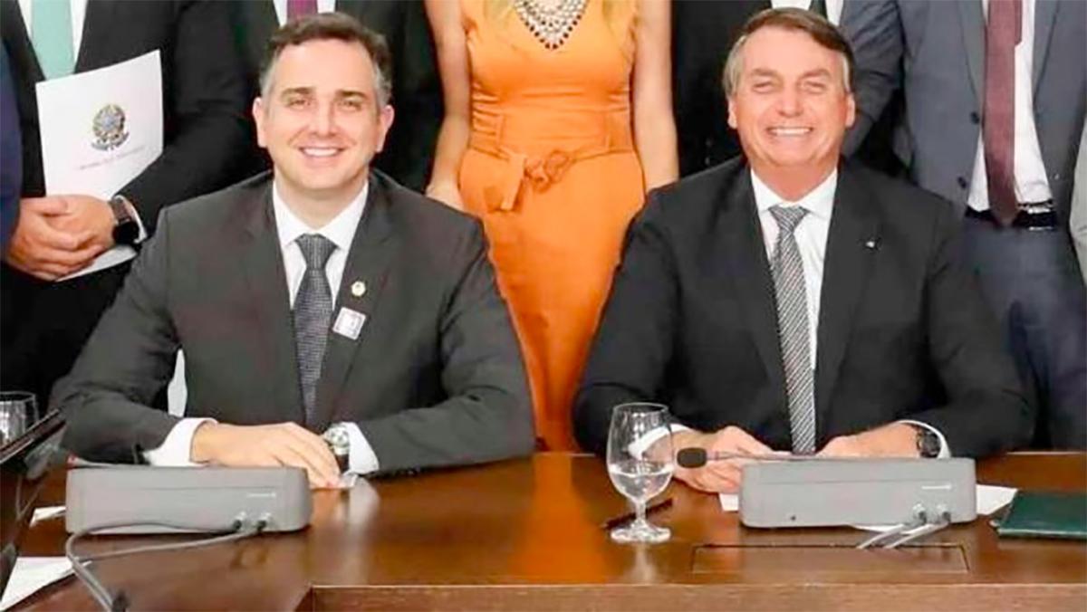 """""""Era o momento adequado"""", também disse Pacheco, a respeito do jantar de Bolsonaro com empresários do Eixo"""