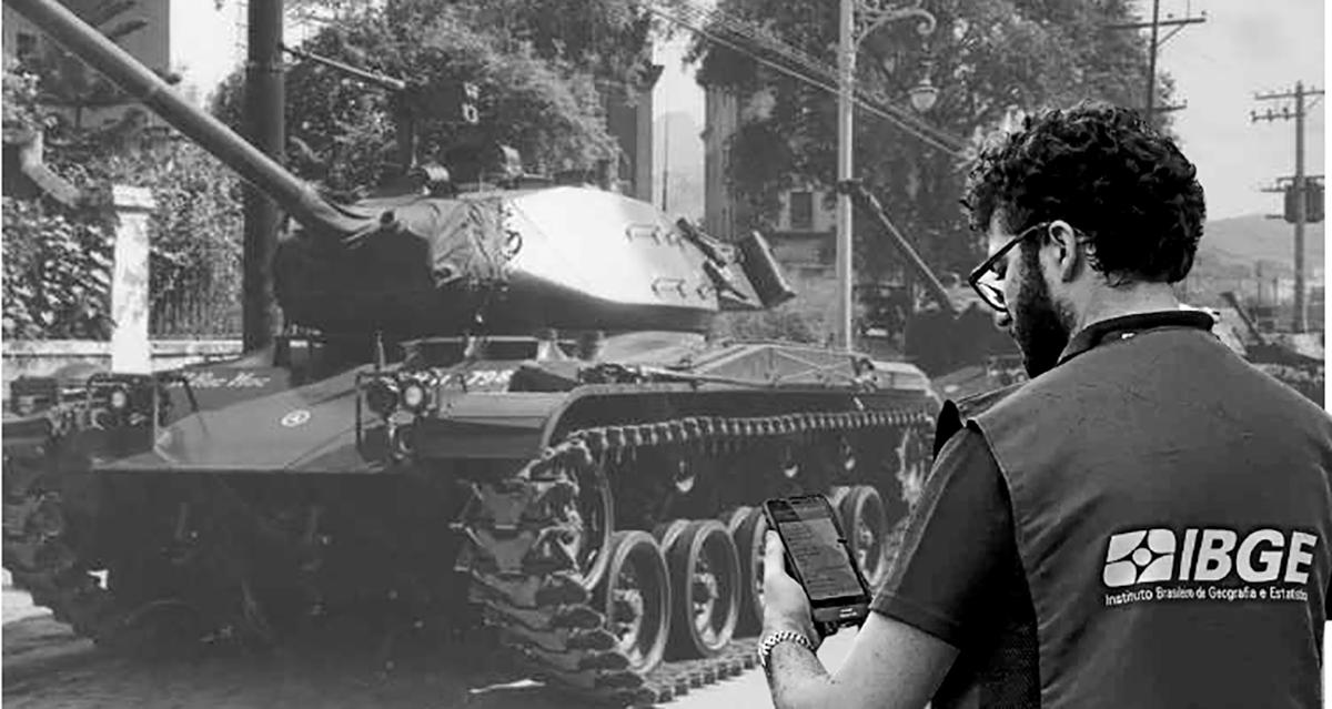 Novo censo vai avaliar quantos tanques cada brasileiro tem em casa
