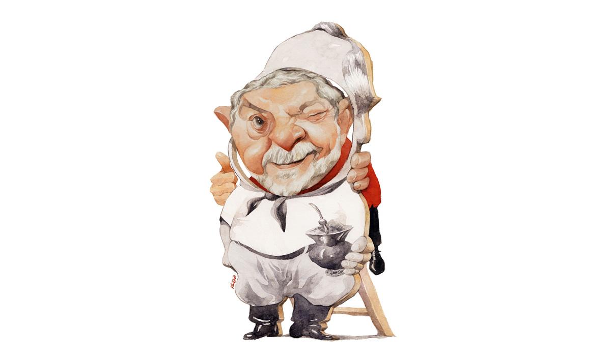 """Lula incorporando Getúlio: antes como agora, só faz sentido voltar à disputa """"não como líder de partidos, e sim como líder de massas"""""""