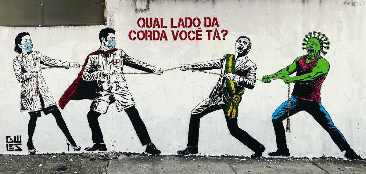 A saúde <i>versus</i> Bolsonaro: uma das falhas da comunicação científica na pandemia foi o destaque dado a manifestações pessoais de especialistas, colocando as instituições em segundo plano