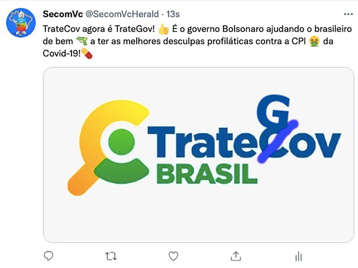 """""""Mas e o Lula? E o PT?"""", receita o TrateGov, para quem pergunta sobre as 450 mil mortes causadas pela Covid-19"""