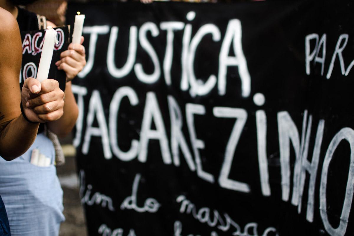 Protesto de moradores do Jacarezinho –