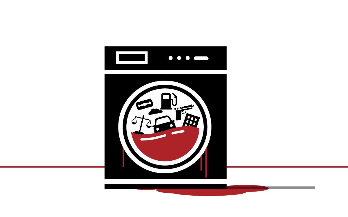 Lava-se de tudo – sangue, pó e propina