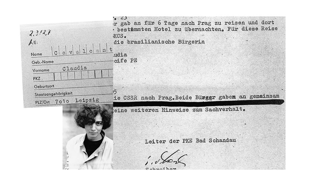 """Claudia Cavalcanti em Leipzig em 1985 e o dossiê da Stasi: """"Fiquei feliz por não ter pistas nos documentos de que meus colegas de universidade passaram informações sobre mim ao serviço secreto"""""""