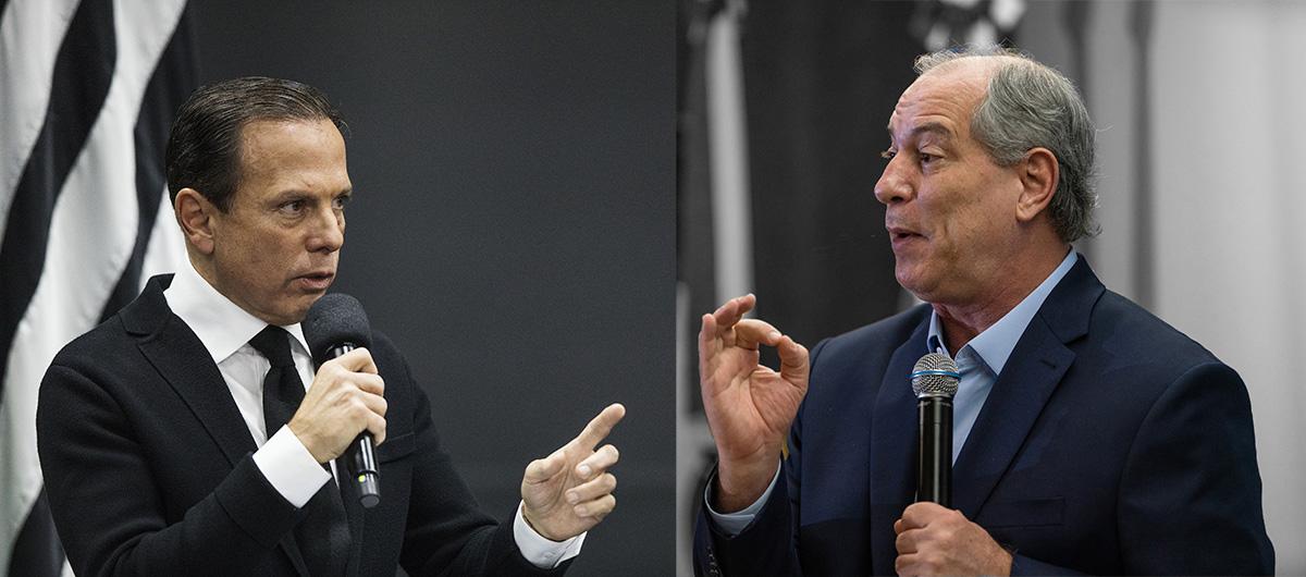 João Doria e Ciro Gomes –