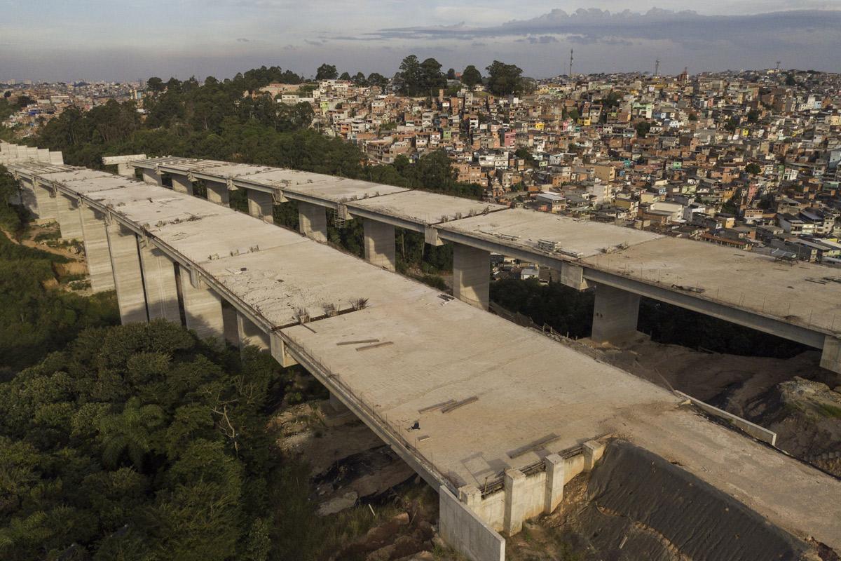 Trecho do Rodoanel Norte, em São Paulo –
