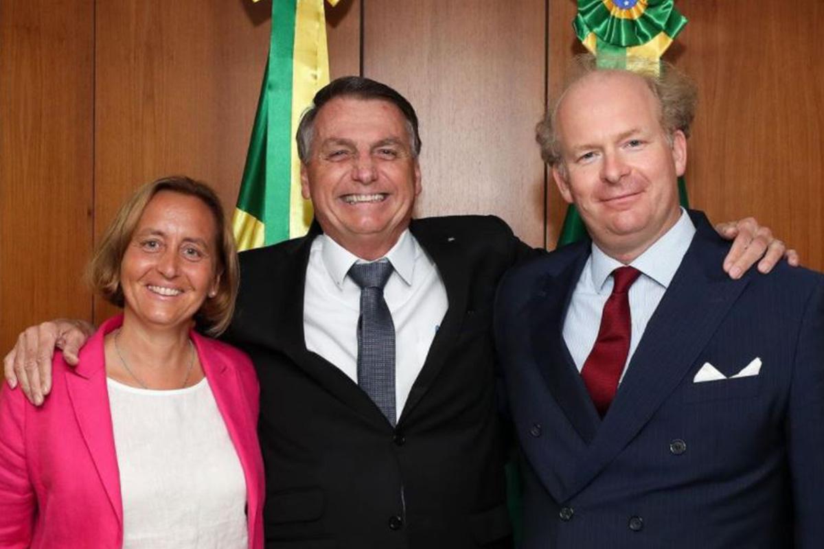 Beatrix von Storch, Bolsonaro e o marido da deputada alemã: encontro fora da agenda do presidente –