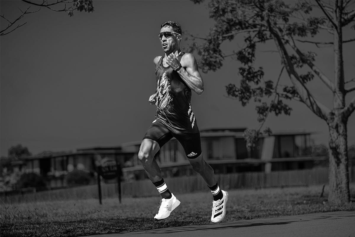 O maratonista Daniel Chaves: atleta diz que o canabidiol o ajudou a vencer a depressão