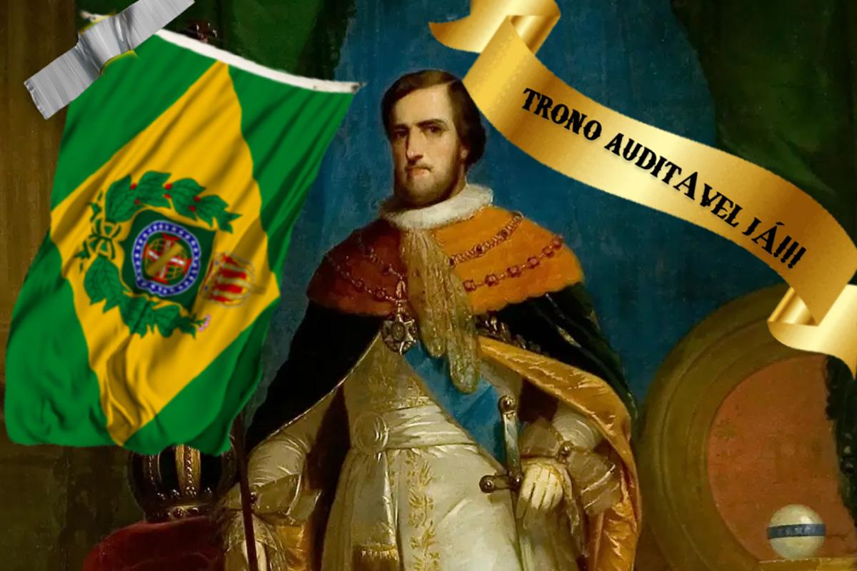 Em sua live de quinta-feira, Dom Pedro II defendeu o trono auditável