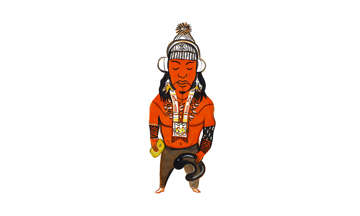 Um <i>influencer</i> indígena
